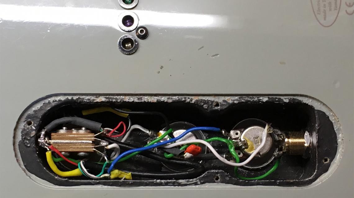 RGX A2 control cavity closeup