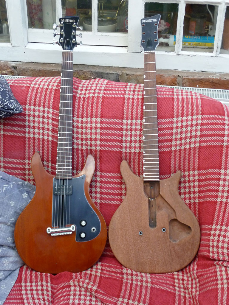 A ce of Dan Armstrong (London) guitars   James Bisset Dan Armstrong Wiring Diagram on